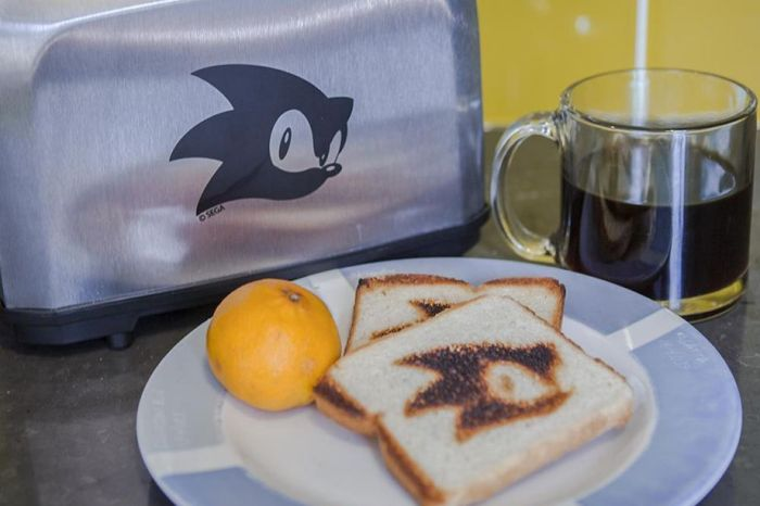 E3 2018: Sonic anuncia sua nova... torradeira!