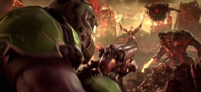 Bethesda apresenta o sangrento gameplay de DOOM Eternal
