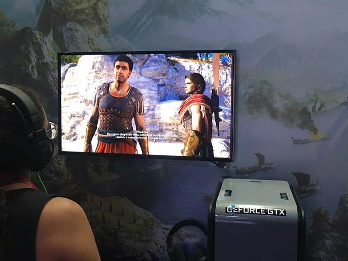 GameXP 2018: Assassin's Creed Odyssey terá a guerra como o coração do game