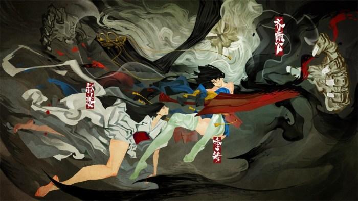 Conheça Bladed Fury, uma bela aventura de uma princesa guerreira na mitologia Chinesa