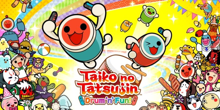 Análise Arkade: Taiko no Tatsujin Drum 'n' Fun traz percussão e diversão com tempero oriental