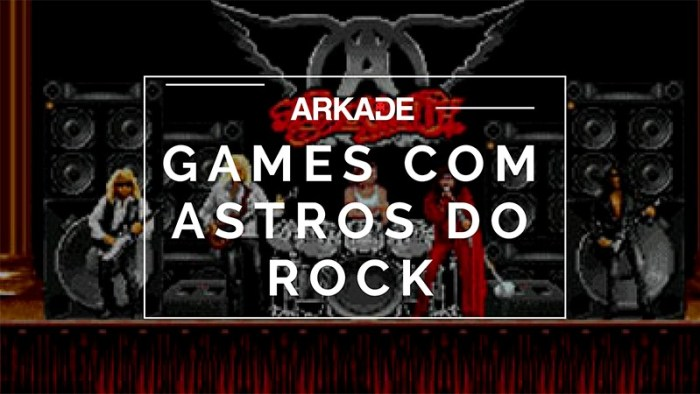 Rock and Games: 8 jogos com bandas de rock como protagonistas