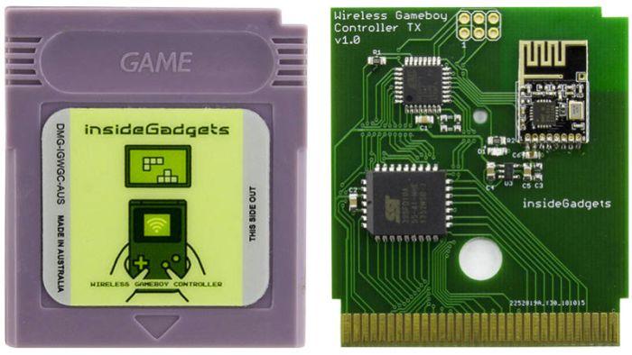 Este cartucho transforma seu antigo Game Boy em um controle sem fio