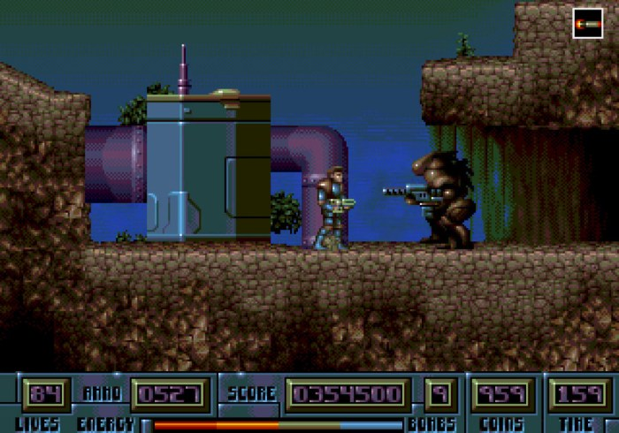 Hardcore - Game de Mega Drive cancelado há 25 anos, será lançado Hardcore_9.png