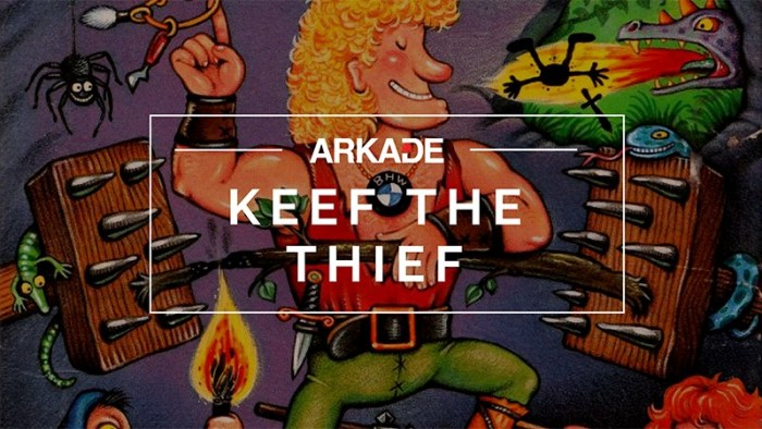RetroArkade: Keef the Thief, o primeiro game da Naughty Dog