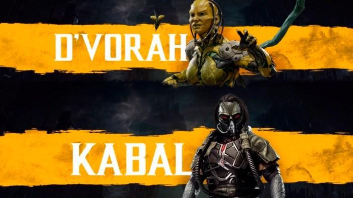 Kabal e D'vorah são os mais novos personagens revelados em Mortal Kombat 11
