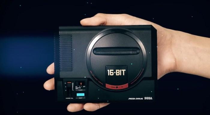 Sega anuncia mais 10 jogos que estarão na memória do Mega Drive Mini