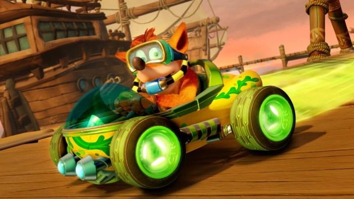 Crash Team Racing Nitro-Fueled apresenta seu sistema de customização de karts e personagens