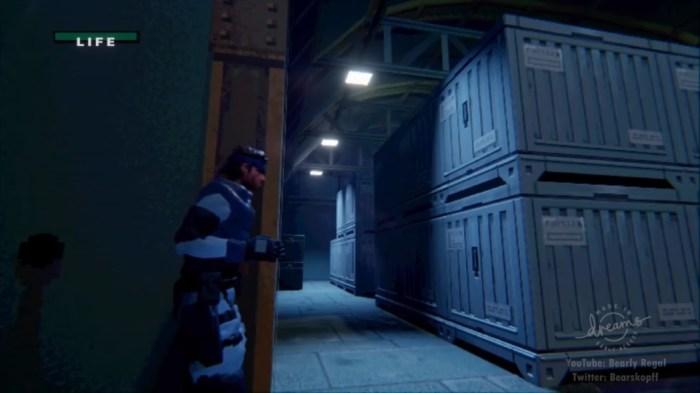 Recriaram a área inicial de Metal Gear Solid em Dreams e o resultado ficou incrível
