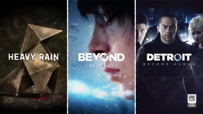 Heavy Rain, Beyond: Two Souls e Detroit ganham data de lançamento para PC
