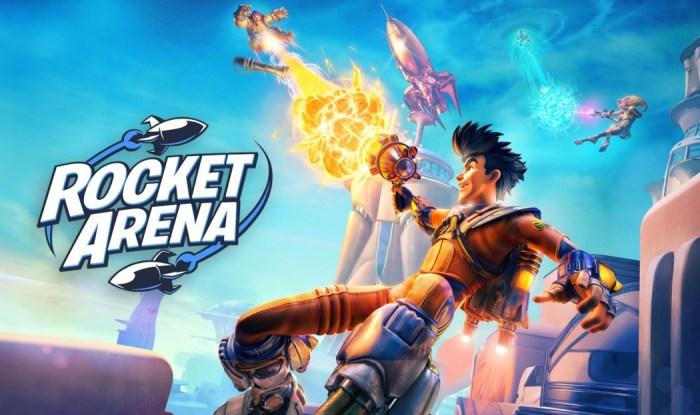 Rocket Arena é um novo multiplayer online que promete batalhas explosivas