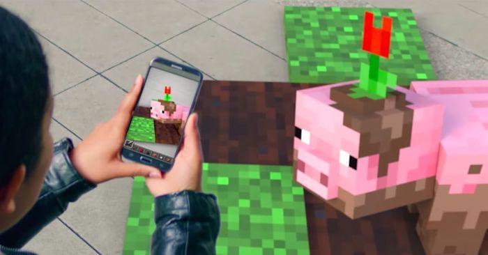 Minecraft: teaser sugere novidade em realidade aumentada para smartphones