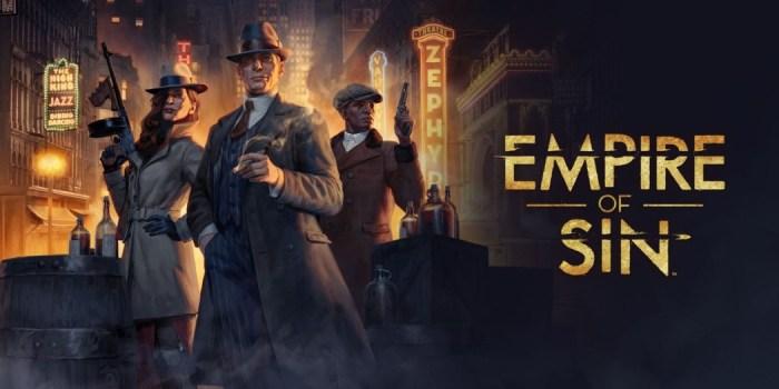 E3 2019: construa seu próprio império do crime em Empire of Sin