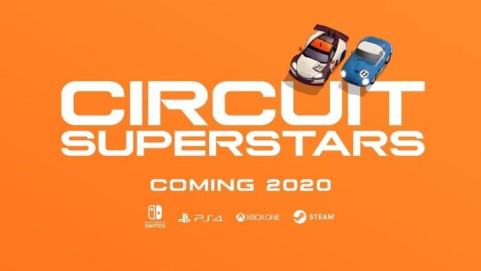 E3 2019: Circuit Superstars trará corrida com visão aérea (indie) em 2020