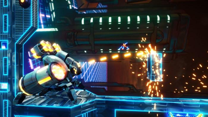 Exception: cace um vírus de computador neste insano jogo de ação e plataforma
