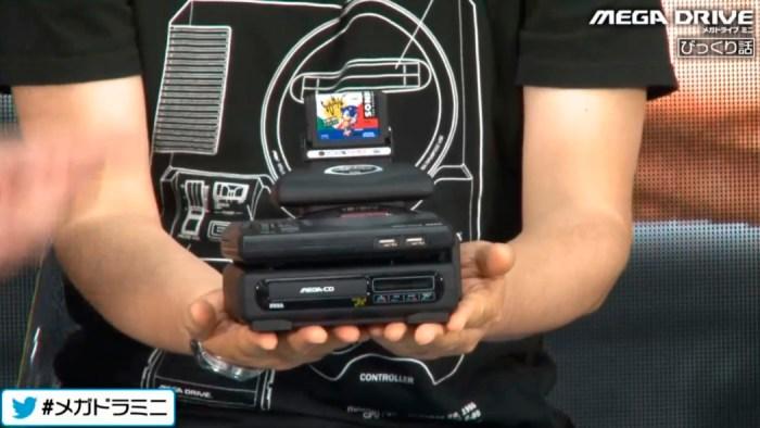 Mini Mega Drive tem todos os seus games confirmados, e terá enfeites com o 32X e o Sega CD