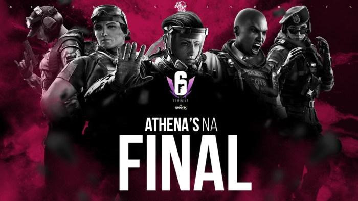 R6 - Jogadoras da Athena's e-Sports se classificam para etapa presencial do Circuito Feminino