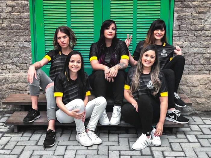 CS:GO - Black Dragons disputará campeonato brasileiro com equipe feminina
