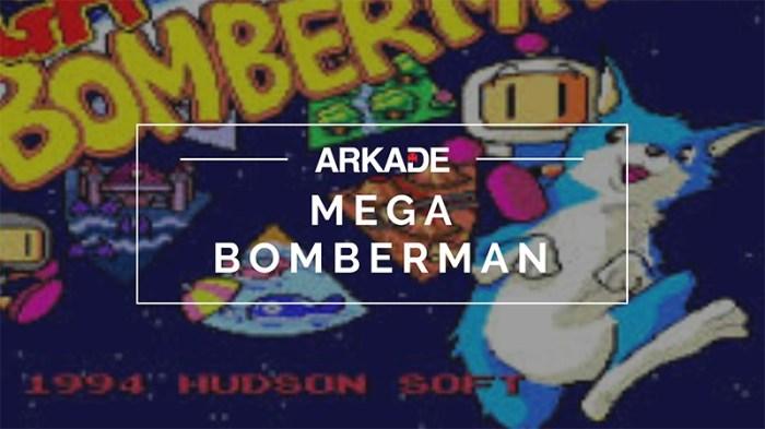RetroArkade - Mega Bomberman, a aventura com bombas para o Mega Drive