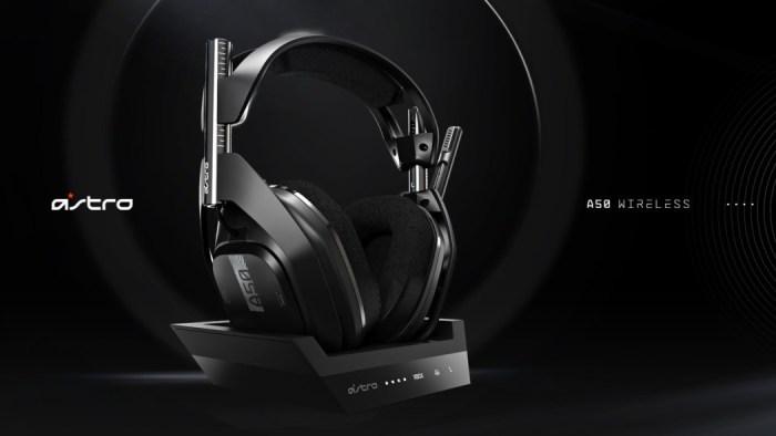 O novo Astro A50 promete som de qualidade totalmente wireless