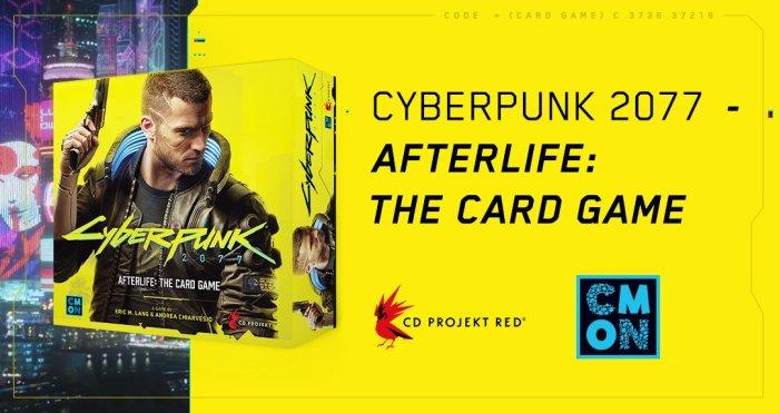 Cyberpunk 2077 ganhará um card game físico