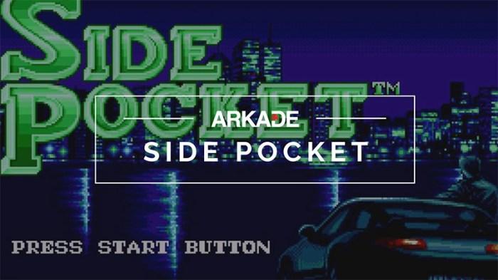 RetroArkade - a história de Side Pocket, o game de bilhar mais legal de todos os tempos!