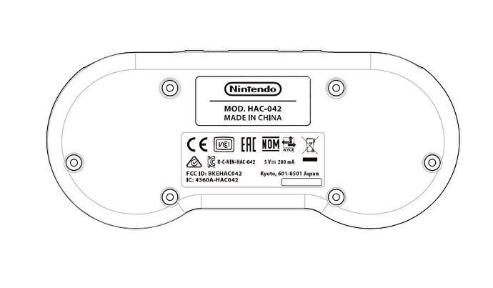 Patente de controle de SNES sugere que o Switch terá games em 16-bits