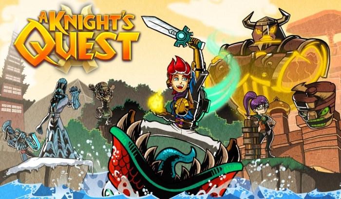 A Knight's Quest promete aventura estilo Zelda para todas as plataformas