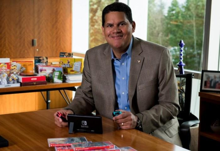Reggie Fils-Aime, o ex-presidente da Nintendo, vai virar professor universitário!