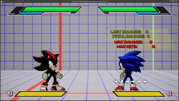 Sonic Smackdown é um jogo de luta do Sonic (fan made) que parece bom demais para ser verdade