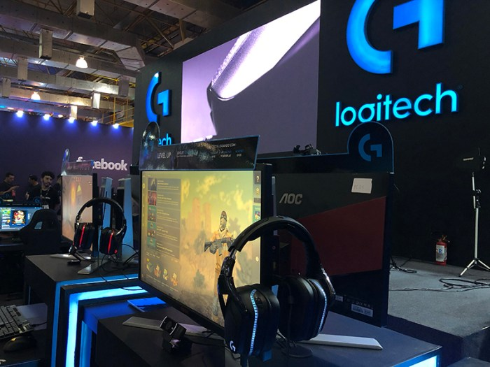 BGS 2019 - Logitech segue de olhos atentos para com os corredores virtuais