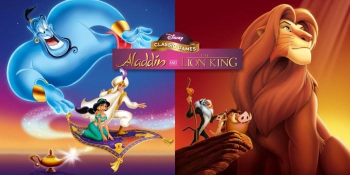 Análise Arkade - Disney Classic Games: Aladdin and The Lion King é um pacotão de nostalgia