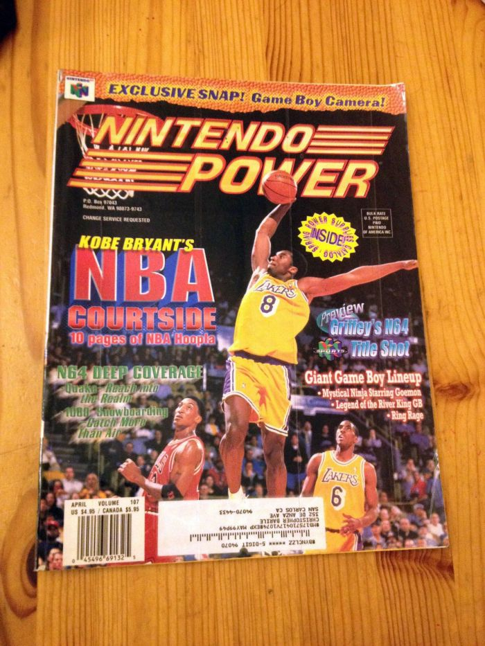 RetroArkade - Kobe Bryant's in NBA Courtside e o início de uma lenda