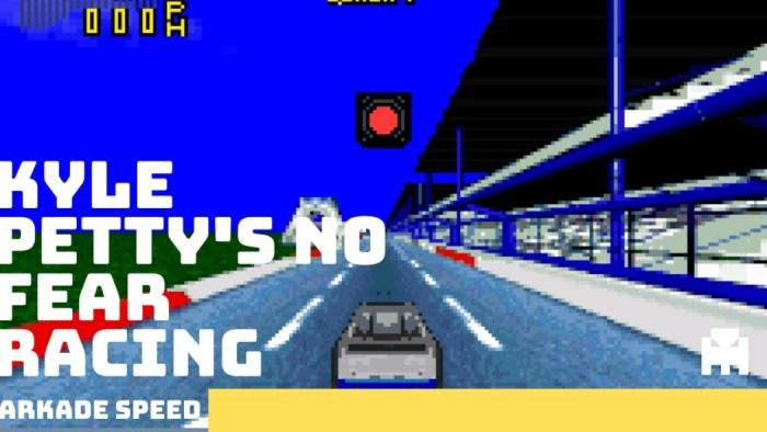 Arkade Speed - Daytona no Super Nintendo? Conheça Kyle Petty's no Fear Racing.