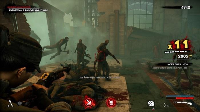 Análise Arkade: matando zumbis nazistas em Zombie Army 4: Dead War