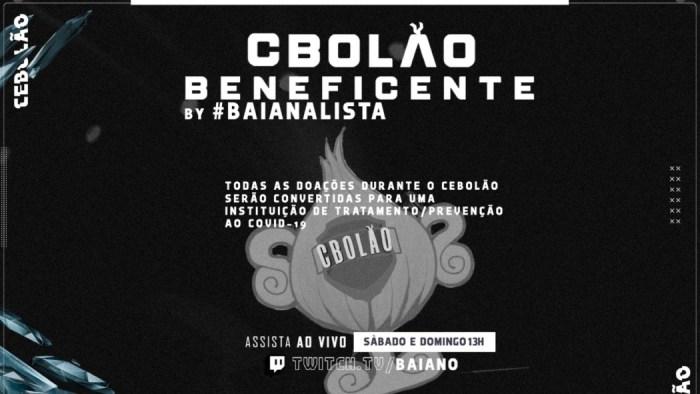CBolão reuniu jogadores de LoL e arrecadou R$ 125 mil em doações para o coronavírus