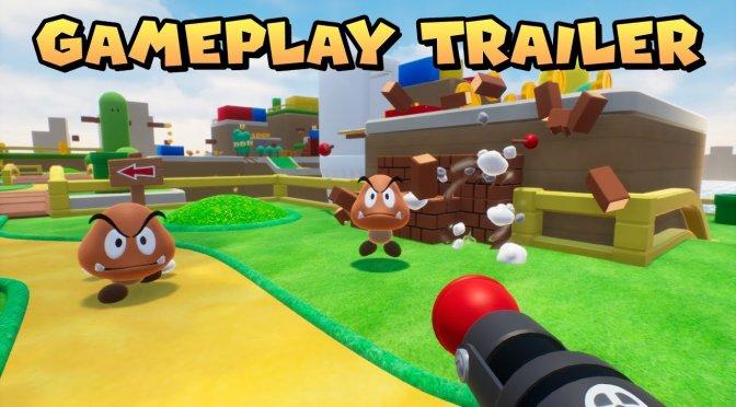 Alguém criou um FPS do Mario na Unreal Engine e você pode jogar agora!