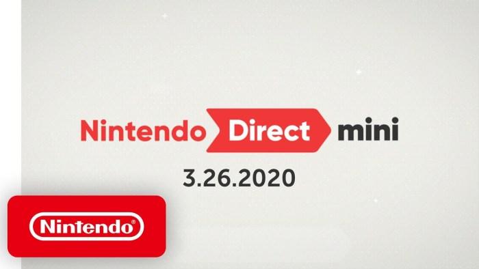 Confira todos os anúncios que rolaram no mais novo Nintendo Direct Mini