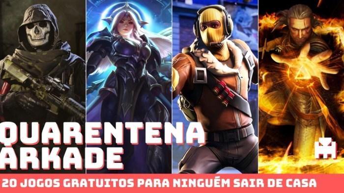 Quarentena Arkade: 20 bons games gratuitos para ninguém sair de casa!