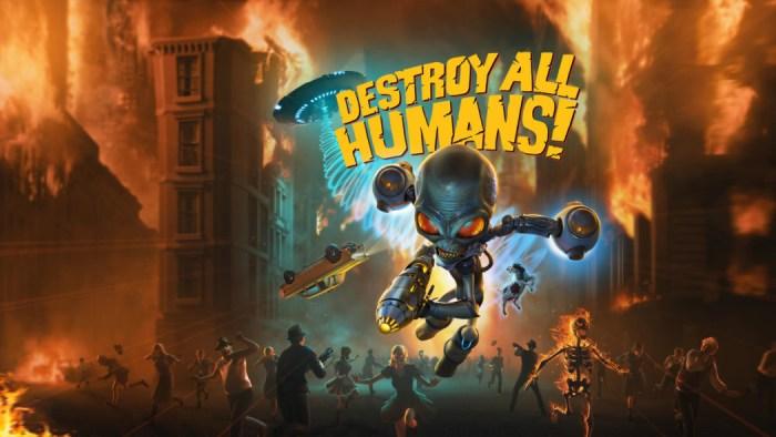 Remake de Destroy All Humans ganha data de lançamento e novo trailer