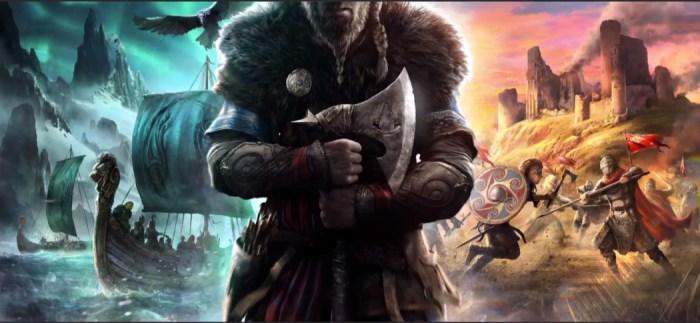 Assassin's Creed Valhalla chega no final de 2020 e leva a série ao mundo viking