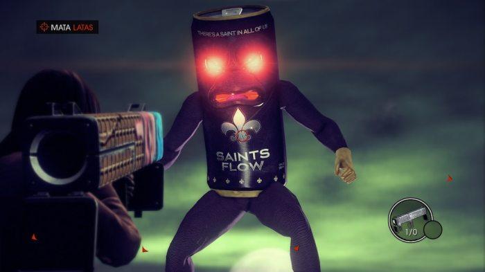 Saints Row IV Re-Elected no Switch tem sido um bom parceiro nesta quarentena