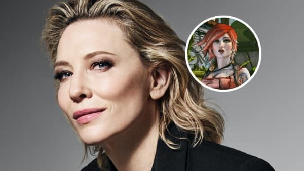 A Gearbox quer Cate Blanchett como Lilith no filme de Borderlands