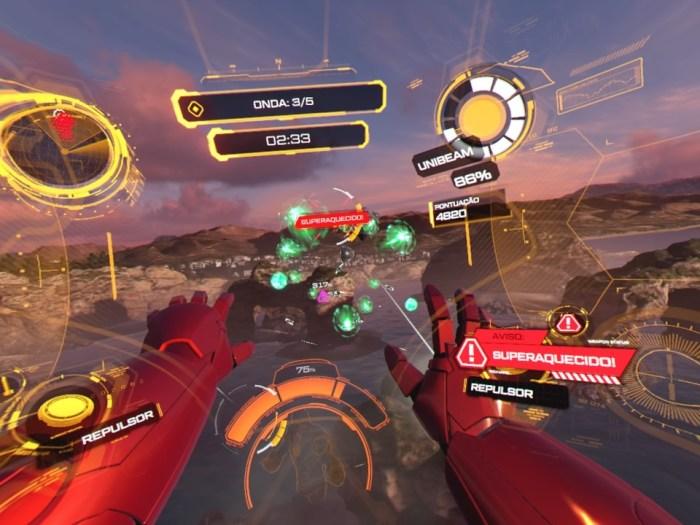 Arkade VR: Iron Man VR promete imersão, adrenalina e muita ação com sua demo