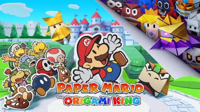 Nintendo anuncia novo Paper Mario para o Switch, que chega em julho