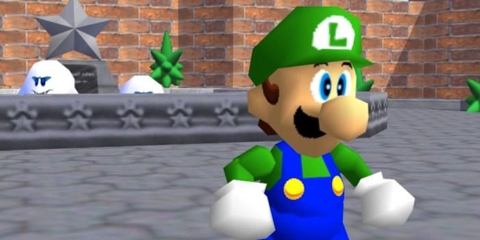 L is real 2401: O rumor é confirmado, Luigi está em Super Mario 64!