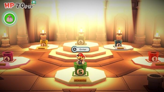 Análise Arkade - Paper Mario: The Origami King é uma grande aventura (com combates chatos)