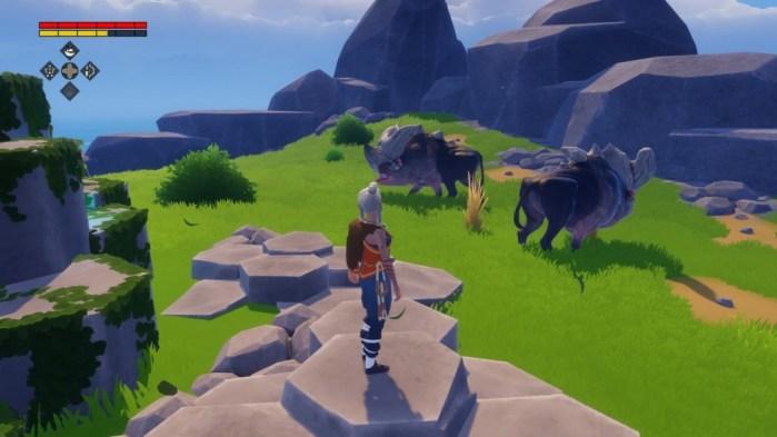 Preview Arkade: Windbound, uma curiosa mistura de Zelda com Don't Starve