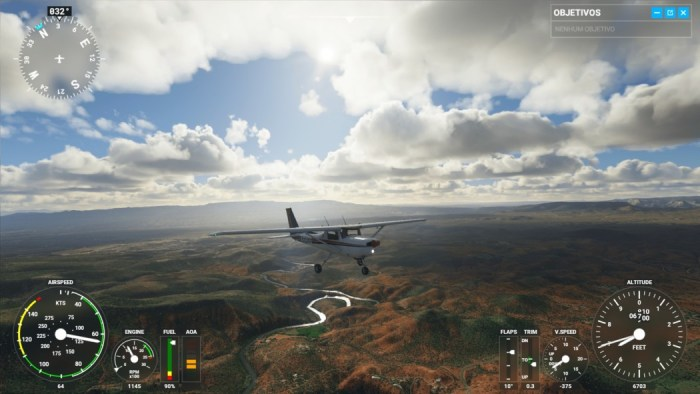 Análise Arkade: Flight Simulator 2020 é majestosamente incrível