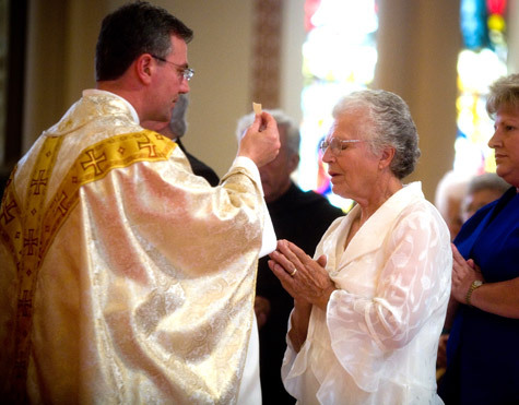 Image result for Can you receive communion with venial sin?
